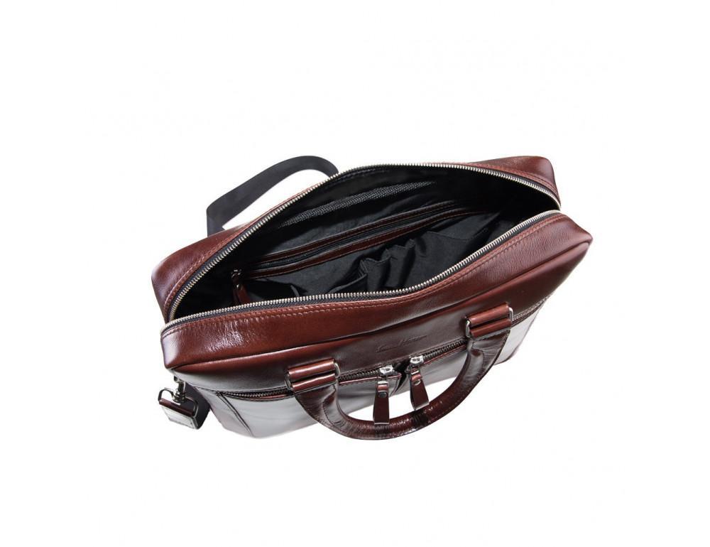 Вместительный кожаный портфель Issa Hara B23-92-00 - Фото № 3