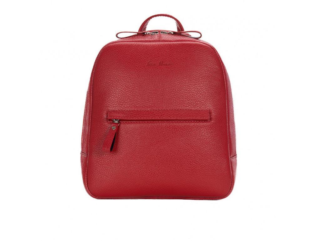 Червоний жіночий рюкзак зі шкіри Issa Hara BP3-15-00