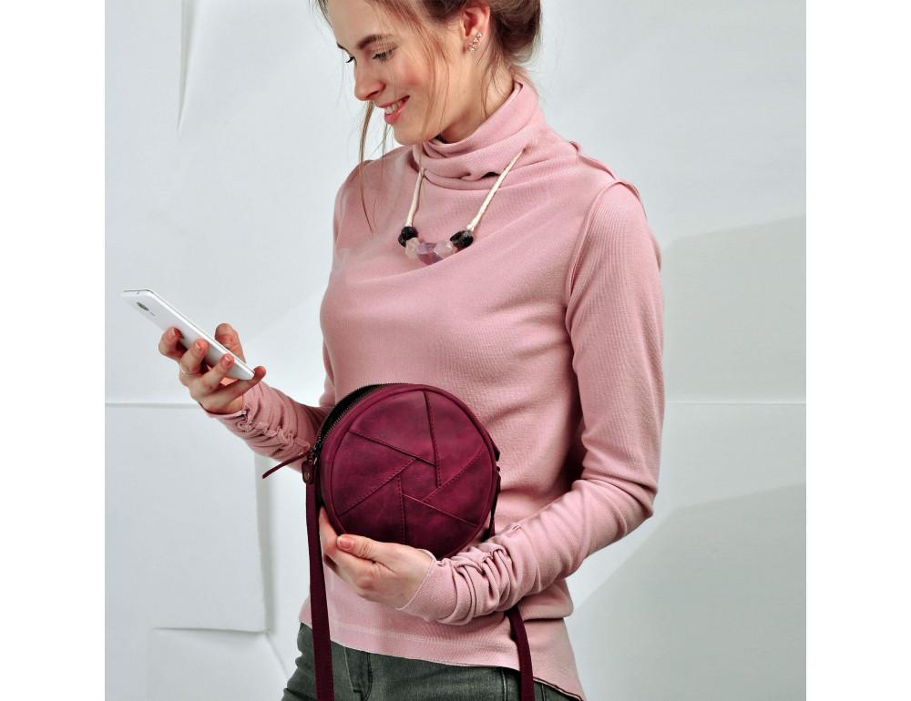 Женская сумка Бон-бон Blanknote bn-bag-11-vin - Фото № 2