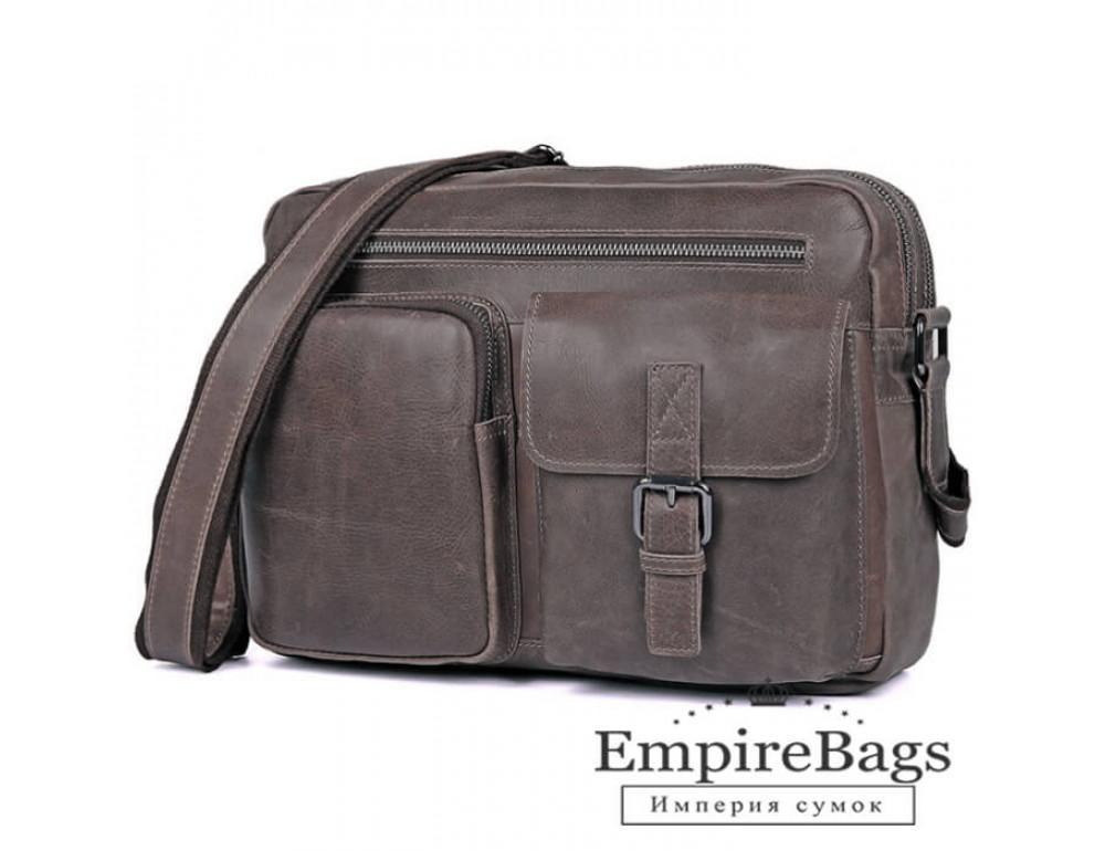 Чоловіча шкіряна сумка-месенджер TIDING BAG 1017B