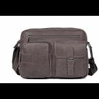 Мужская кожаная сумка-мессенджер TIDING BAG 1017B - Фото № 102