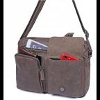 Мужская кожаная сумка-мессенджер TIDING BAG 1017B - Фото № 107