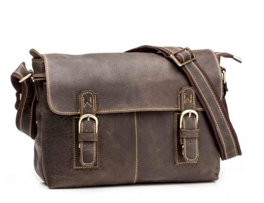 Чоловіча шкіряна сумка через плече Tidin Bag G8850