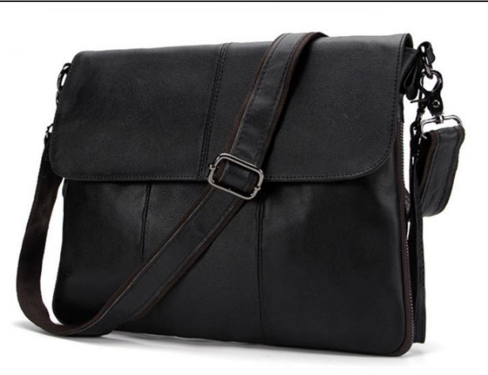 Чоловіча шкіряна сумка-месенджер Bexhill Bx8007A - Фотографія № 1