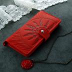 Красный кожаный кошелек Blanknote BN-PM-7-coral-ls - Фото № 100