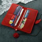 Красный кожаный кошелек Blanknote BN-PM-7-coral-ls - Фото № 101
