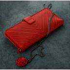 Красный кожаный кошелек Blanknote BN-PM-7-coral-ls - Фото № 103