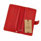 Красный кожаный кошелек Blanknote BN-PM-7-coral-ls - Фото № 104