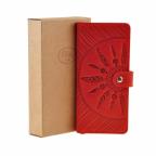 Красный кожаный кошелек Blanknote BN-PM-7-coral-ls - Фото № 105
