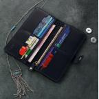 Темно-синій шкіряний гаманець Blanknote BN-PM-7-nn-ls - Фотографія № 101