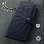 Темно-синій шкіряний гаманець Blanknote BN-PM-7-nn-ls - Фотографія № 104