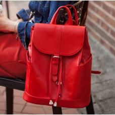 Городской кожаный рюкзак Blanknote BN-BAG-13-rubin