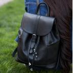 Городской кожаный рюкзак Blanknote BN-BAG-13-onyx - Фото № 100