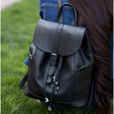 Міський шкіряний рюкзак Blanknote BN-BAG-13-onyx