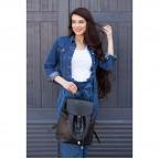 Городской кожаный рюкзак Blanknote BN-BAG-13-onyx - Фото № 103