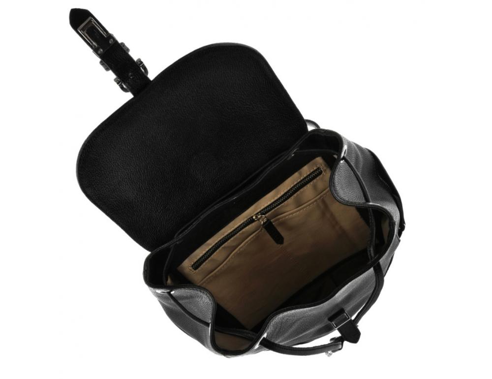 Городской кожаный рюкзак Blanknote BN-BAG-13-onyx - Фото № 5