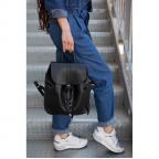Городской кожаный рюкзак Blanknote BN-BAG-13-onyx - Фото № 105