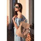 Городской кожаный рюкзак Blancnote BN-BAG-13-crem-brule - Фото № 101