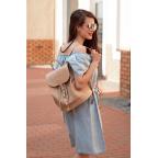 Городской кожаный рюкзак Blancnote BN-BAG-13-crem-brule - Фото № 106