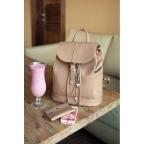 Городской кожаный рюкзак Blancnote BN-BAG-13-crem-brule - Фото № 100