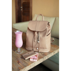 Міський шкіряний рюкзак Blancnote BN-BAG-13-crem-brule