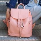 Міський шкіряний рюкзак Blancnote BN-BAG-13-barbie - Фотографія № 100