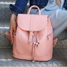 Міський шкіряний рюкзак Blancnote BN-BAG-13-barbie