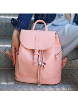 Городской кожаный рюкзак Blancnote BN-BAG-13-barbie