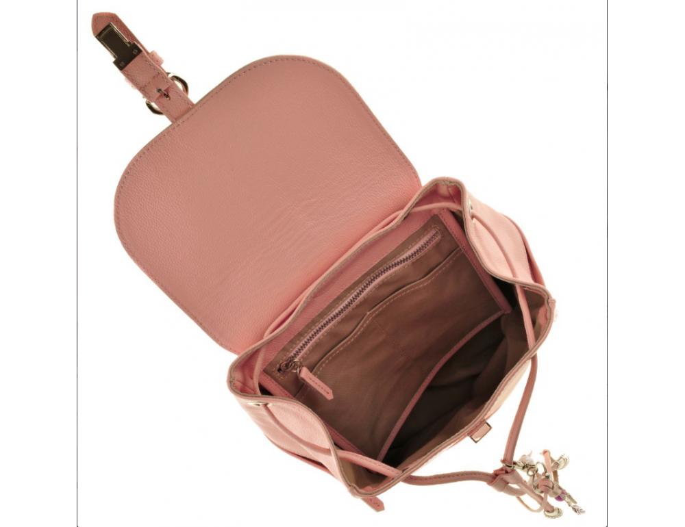 Міський шкіряний рюкзак Blancnote BN-BAG-13-barbie - Фотографія № 3