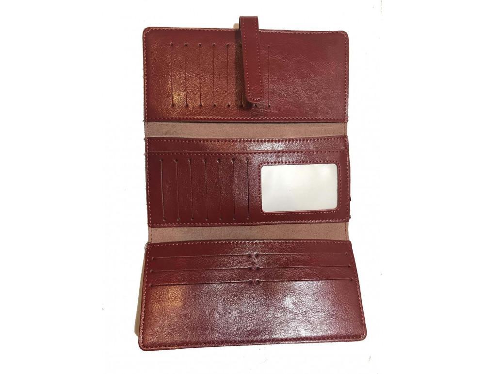 Кожаный кошелёк Tiding Bag M38-1831R - Фото № 2