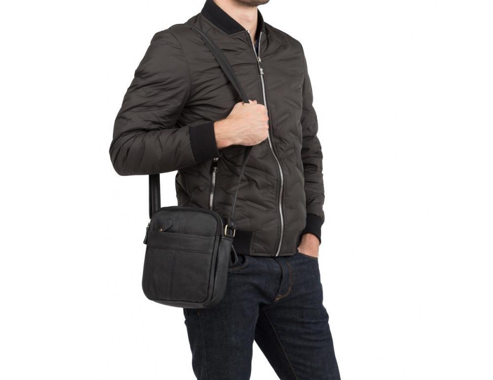 Мужская кожаная сумка планшет TIDING BAG M38-1025A - Фото № 2
