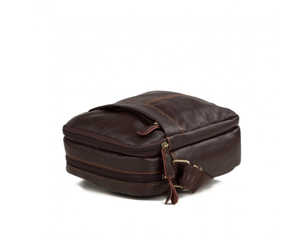 Чоловіча шкіряна сумка планшет TIDING BAG M38-1025C - Фотографія № 4
