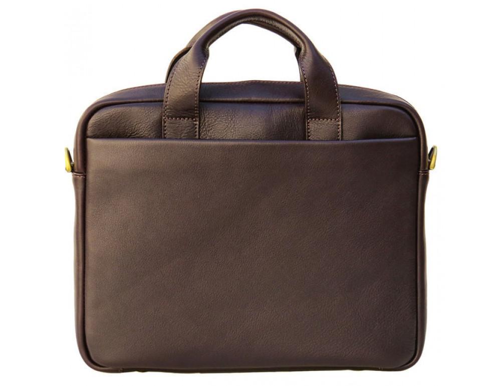 Мужская кожаная сумка Black Diamond BD25С коричневая - Фото № 3