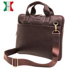 Мужская кожаная сумка под macbook Black Diamond BD27C