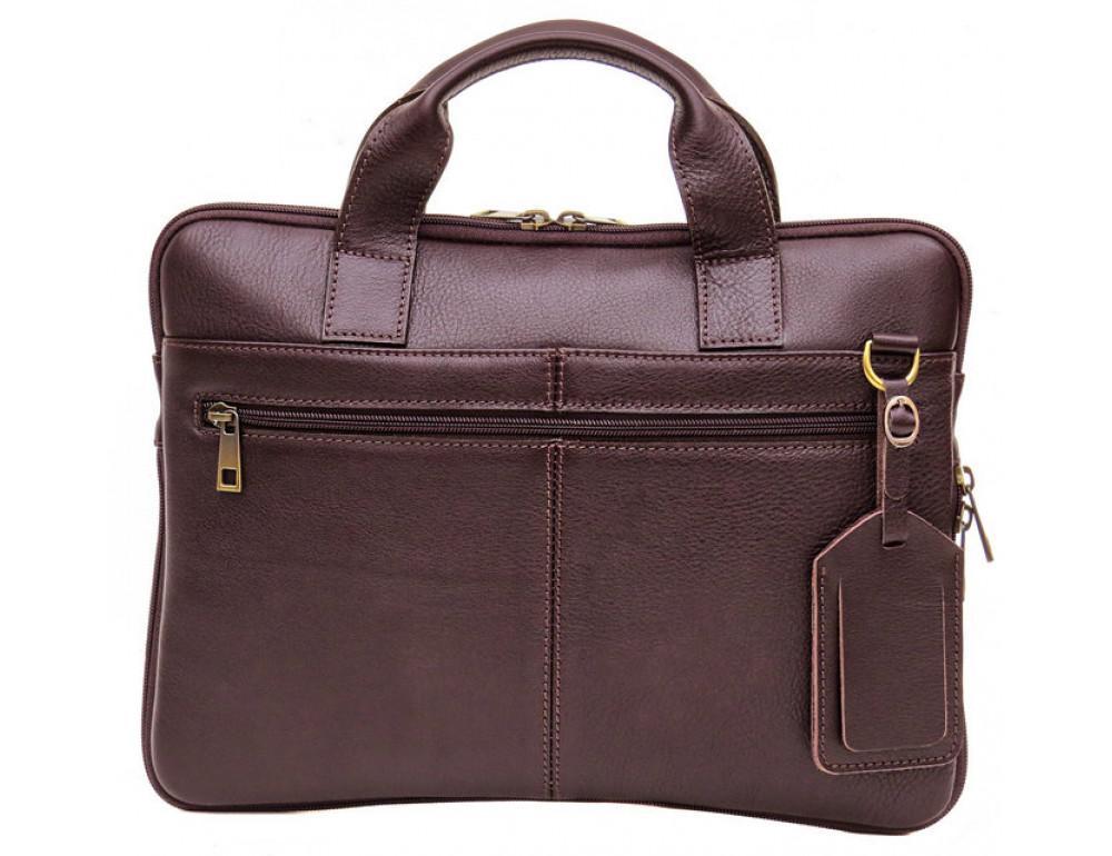 Мужская кожаная сумка под macbook Black Diamond BD27C - Фото № 3