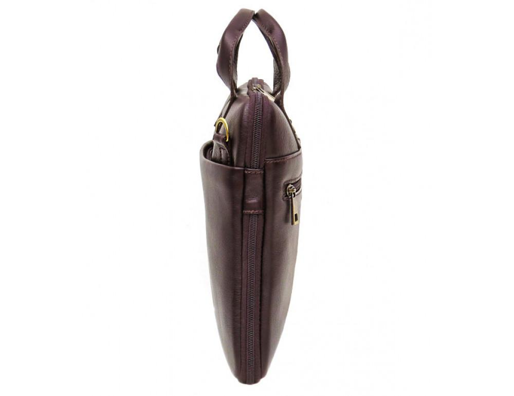 Мужская кожаная сумка под macbook Black Diamond BD27C - Фото № 4