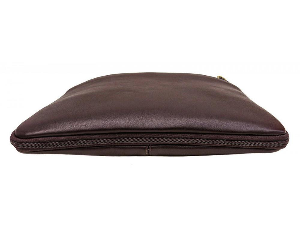Мужская кожаная сумка под macbook Black Diamond BD27C - Фото № 5