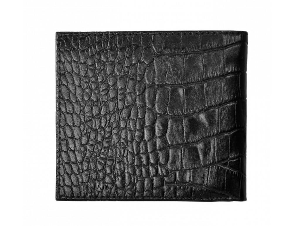 Кожаный портмоне Issa Hara black WB1 21-00  - Фото № 3