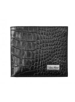 Кожаный портмоне Issa Hara black WB1 21-00