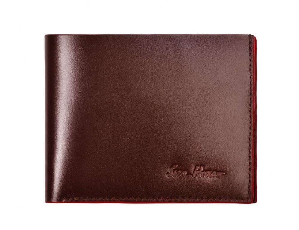 Мужской кожаный портмоне Issa Hara WB4 (02-00)