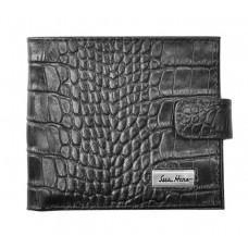 Мужской кожаный портмоне Issa Hara Croco WB1-1 (21-00)