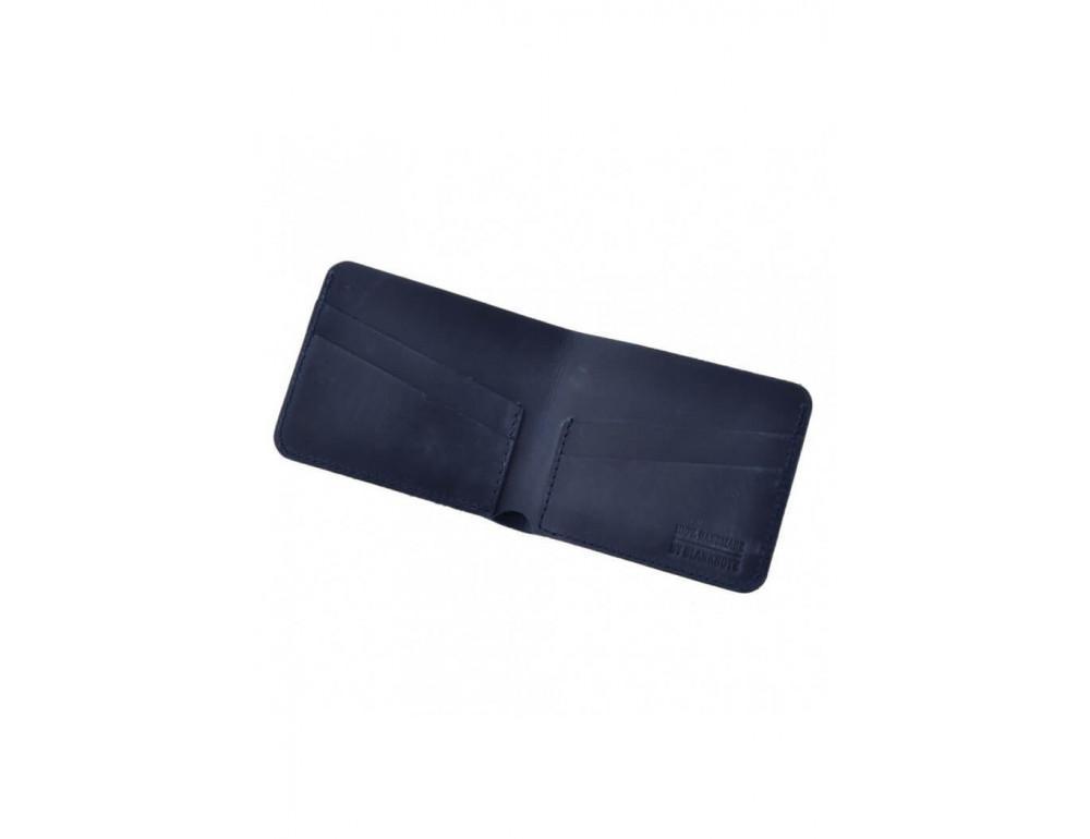 Чоловічий шкіряний портмоне Blanknote НІЧНЕ НЕБО - Фотографія № 3
