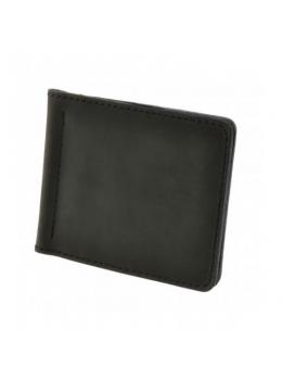 Мужской кожаный зажим для денег Blanknote ГРАФИТ BN-PM-1-g
