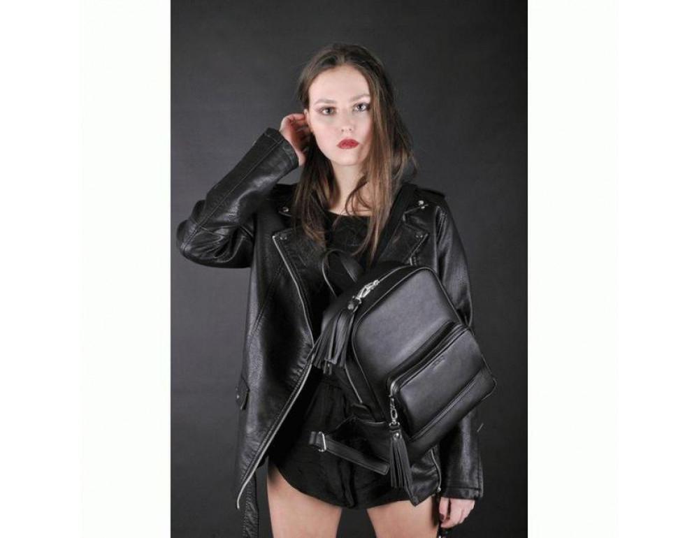 Женский кожаный рюкзак Jizuz COP322511B - Фото № 2