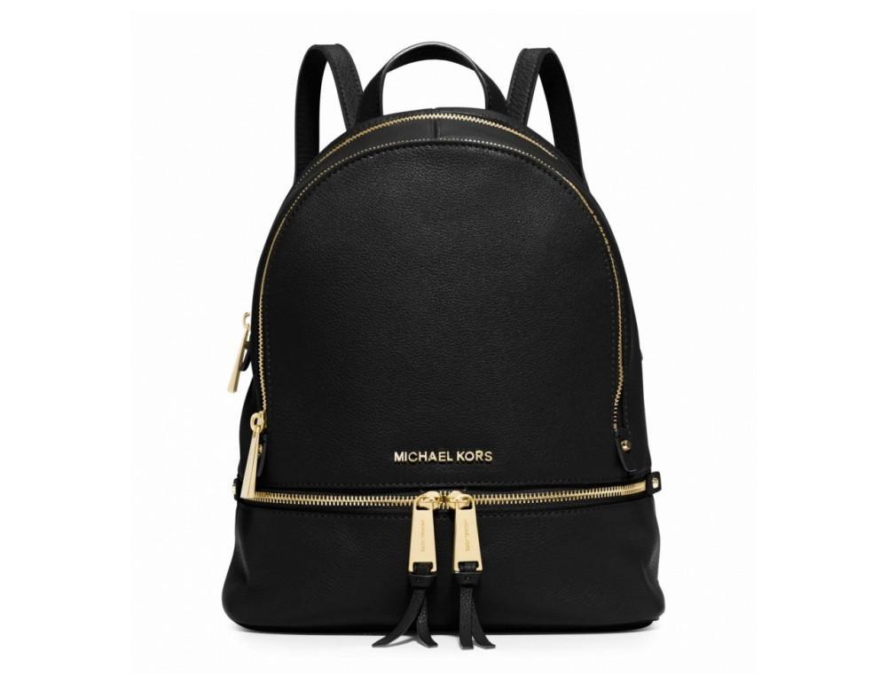 Женский рюкзак Michael Kors Rhea 973-Black