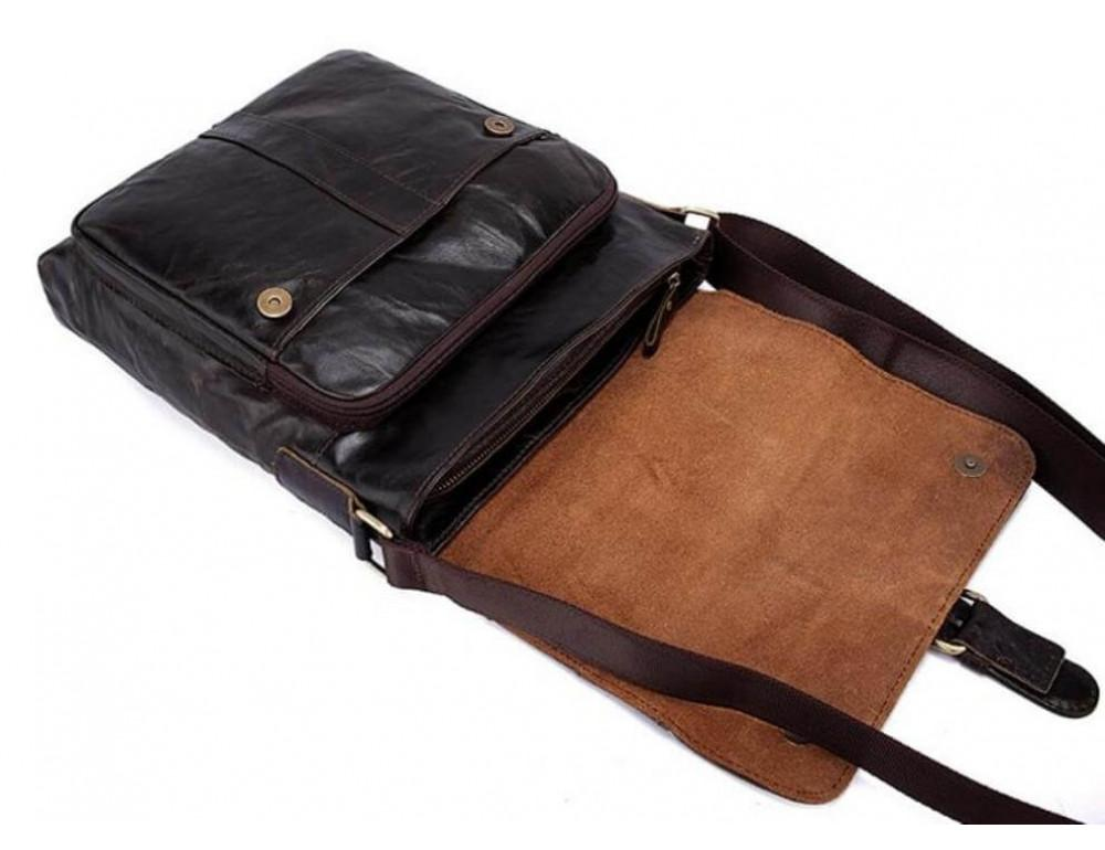 Кожаная сумка через плечо BEXHILL BX1292DB - Фото № 9