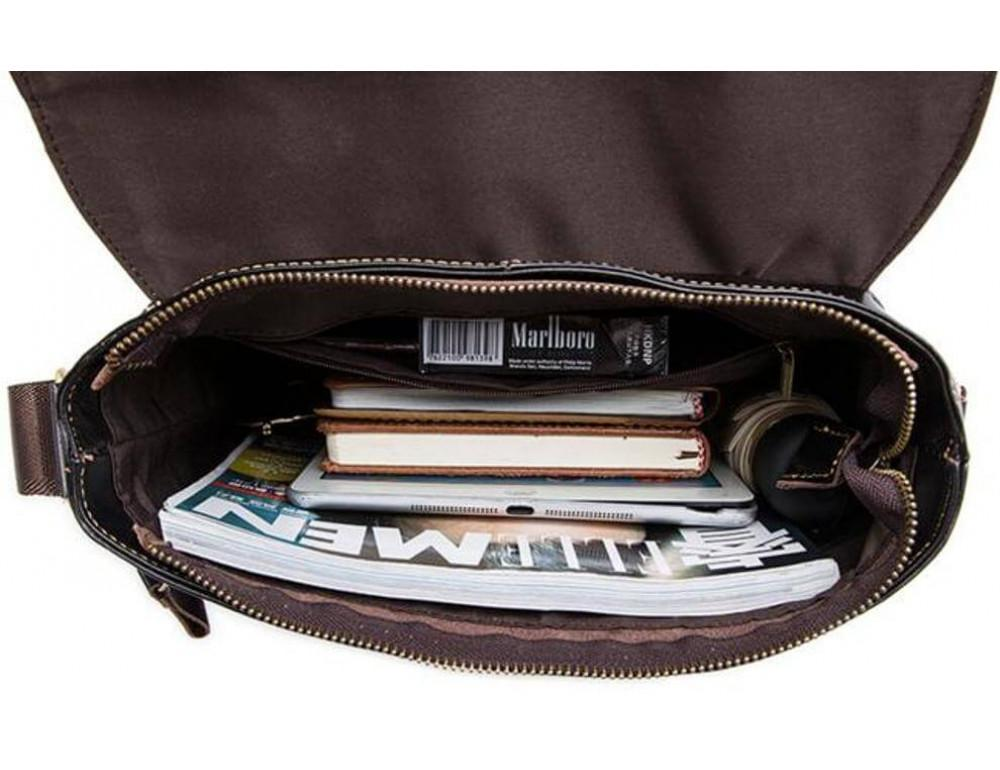 Кожаная сумка через плечо BEXHILL BX1292DB - Фото № 4