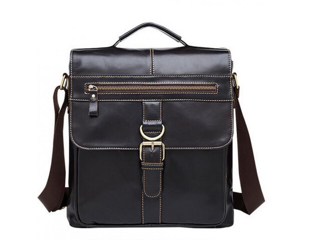 Кожаная сумка через плечо BEXHILL BX1292DB - Фото № 6