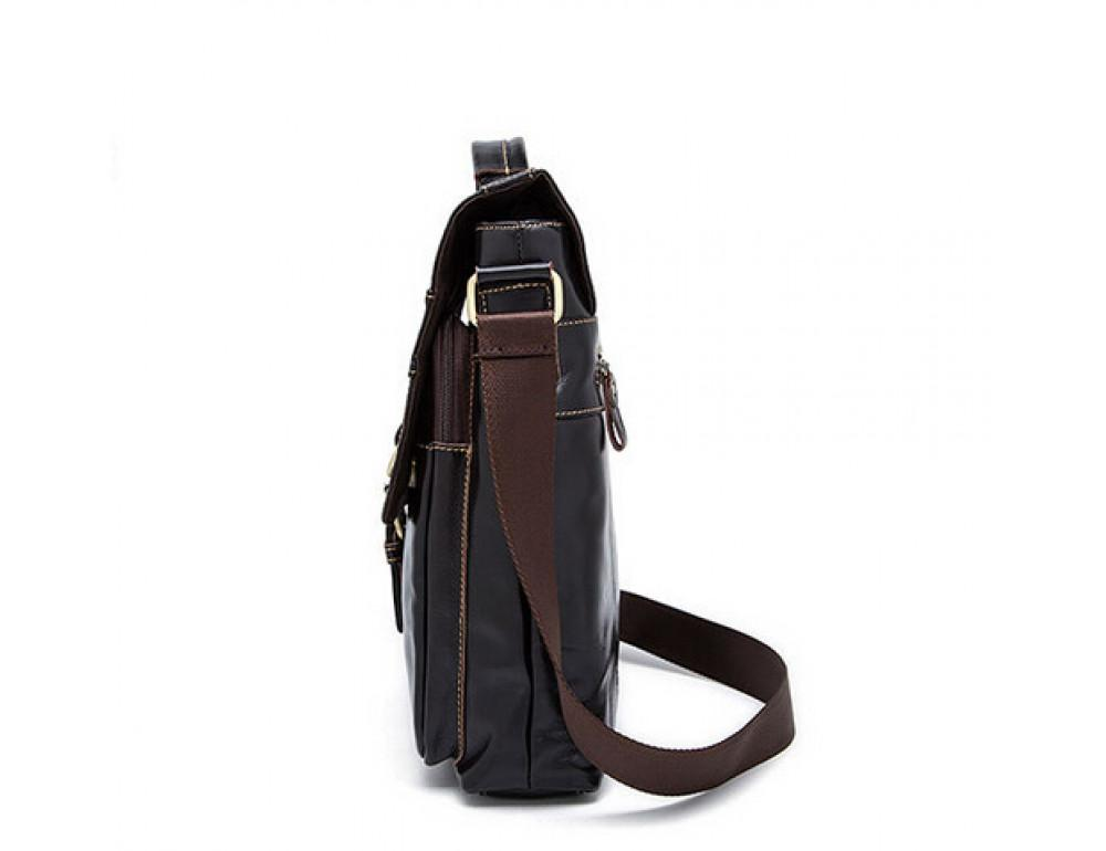 Кожаная сумка через плечо BEXHILL BX1292DB - Фото № 7