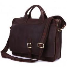 Мужская кожаная сумка TIDING BAG 6020